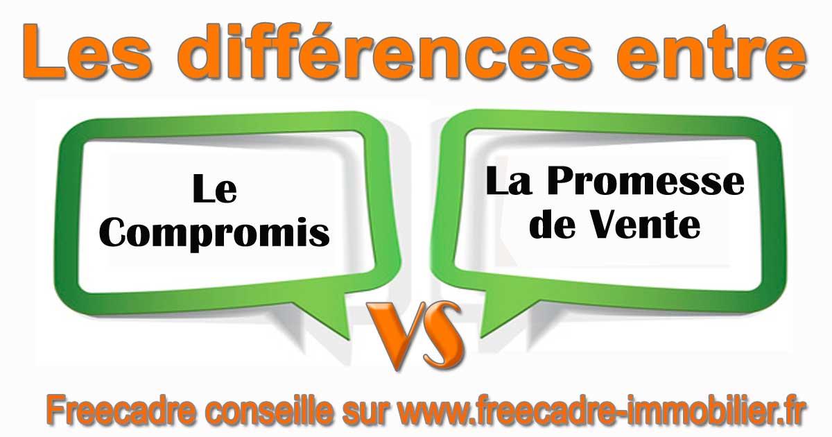 Compromis Et Promesse De Vente Quelle Est La Difference